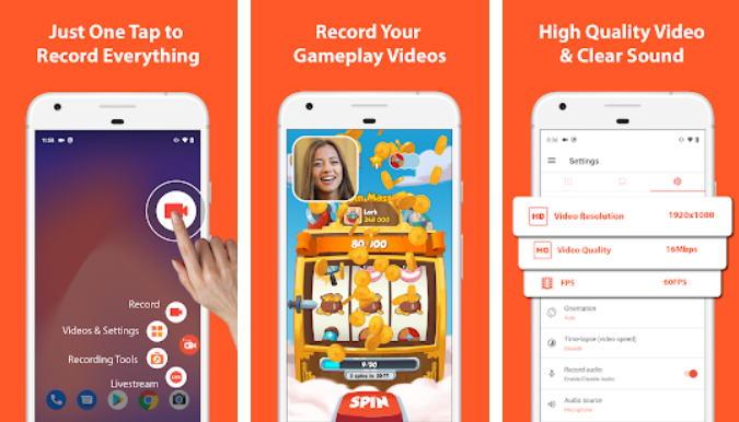 8 Aplikasi Perekam Layar Android Terbaik (Update 2021) - az screen recorder img
