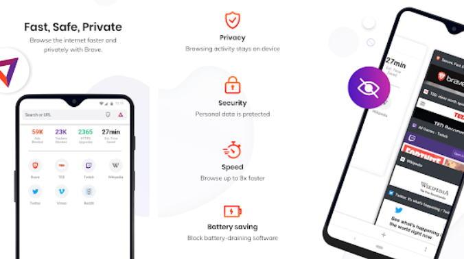 Aplikasi Browser Terbaik 2021 - brave img