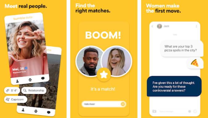Aplikasi Cari Jodoh Terbaik - bumble img