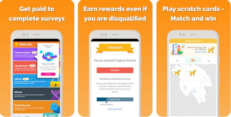 Aplikasi Android Penghasil Uang - cash karma img