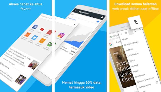 Aplikasi Browser Terbaik 2021 - chrome img