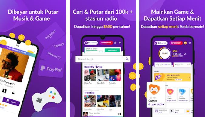 Aplikasi Android Penghasil Uang - dapat cash img