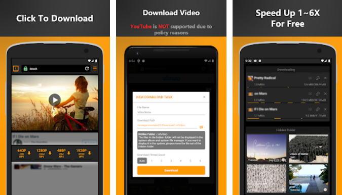 Aplikasi Download Video Online - free video downloader img