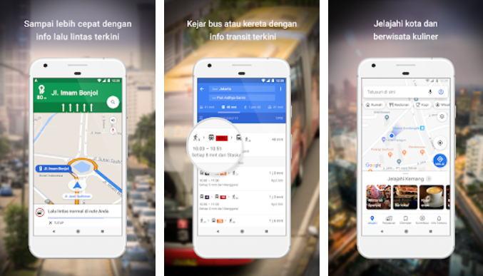 Aplikasi GPS Terbaik - gmaps img
