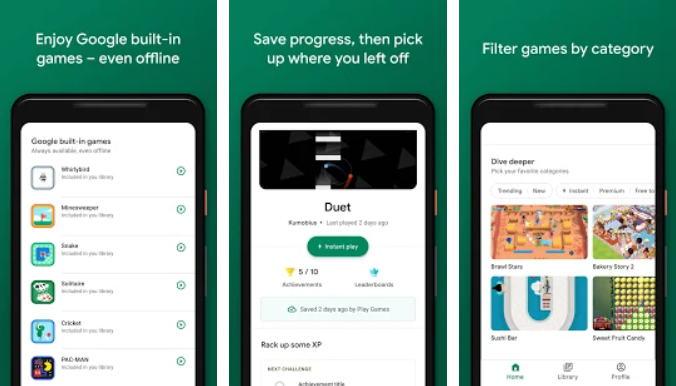 8 Aplikasi Perekam Layar Android Terbaik (Update 2021) - google play game img