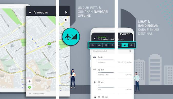 Aplikasi GPS Terbaik - here wego img