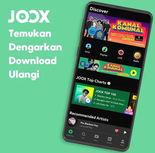 Aplikasi Download Lagu Terbaik - joox img