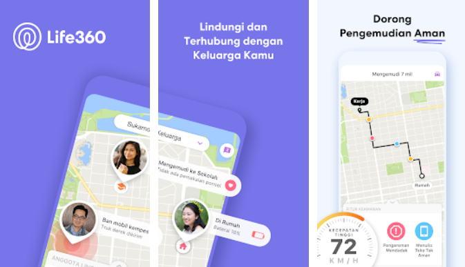 Aplikasi GPS Terbaik - life360 img