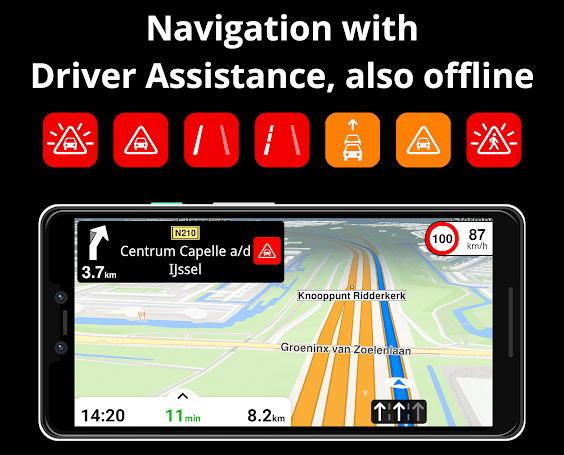 Aplikasi GPS Terbaik - magicearth navigation img
