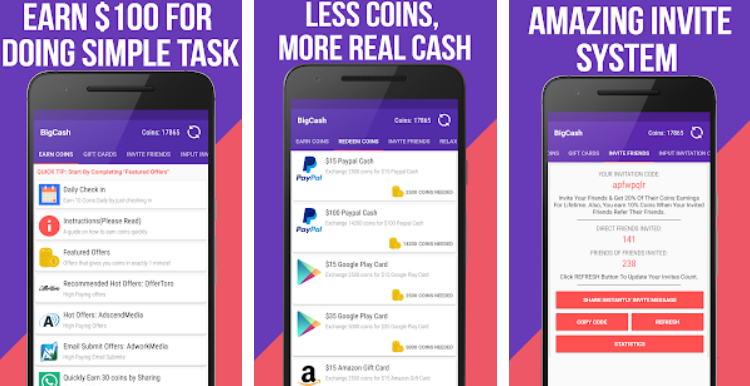 Aplikasi Android Penghasil Uang - make money img