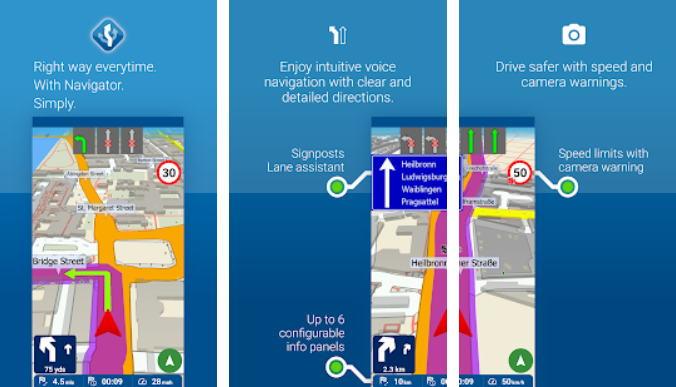 Aplikasi GPS Terbaik - mapfactor gps img