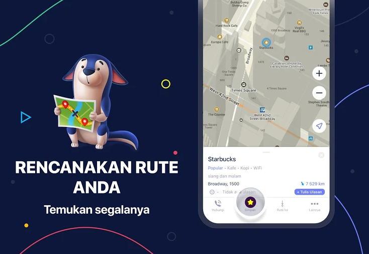 Aplikasi GPS Terbaik - maps.me img