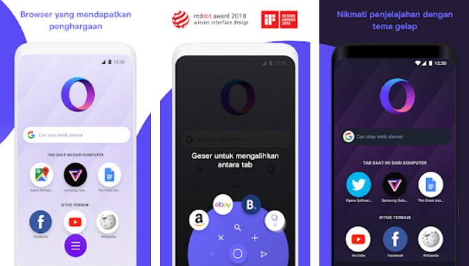 Aplikasi Browser Terbaik 2021 - opera img