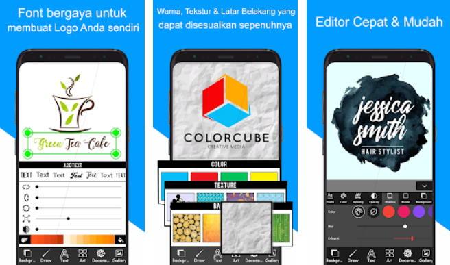 21+ Aplikasi Pembuat Logo Android, iOS dan PC - pembuat logo img