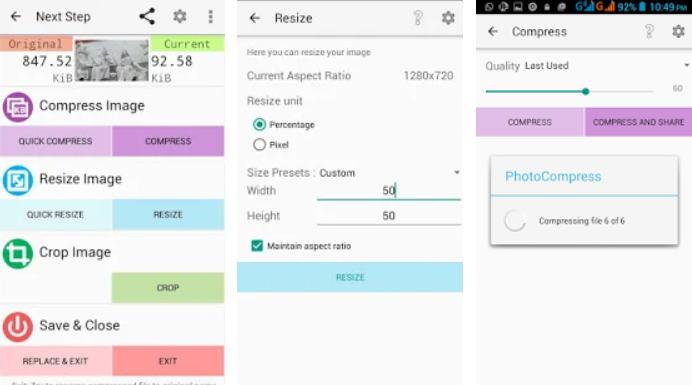 Cara Mengubah Ukuran Foto Menjadi 4x6 di Android - photo compress 2.0 img