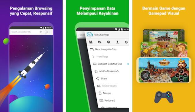 Aplikasi Browser Terbaik 2021 - puffin img