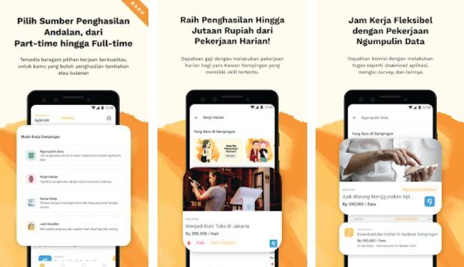 Aplikasi Android Penghasil Uang - sampingan img
