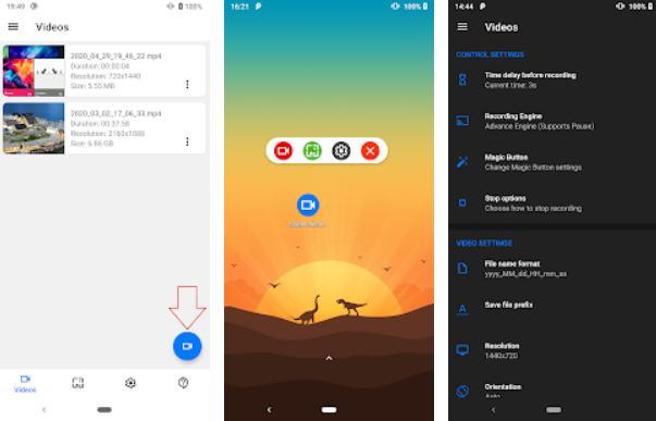 8 Aplikasi Perekam Layar Android Terbaik (Update 2021) - screen recorder img