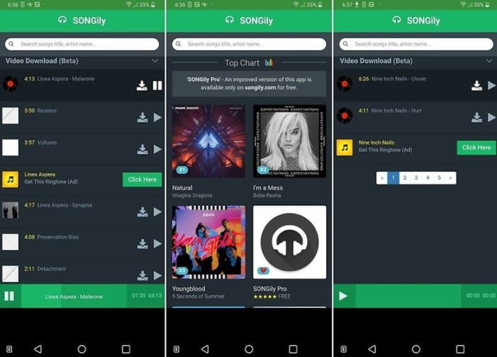 Aplikasi Download Lagu Terbaik - songily img