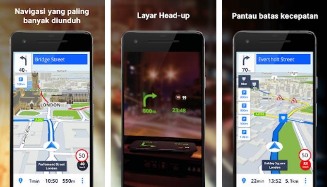 Aplikasi GPS Terbaik - sygic gps img