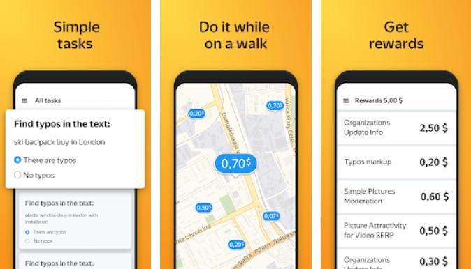 Aplikasi Android Penghasil Uang - toloka img