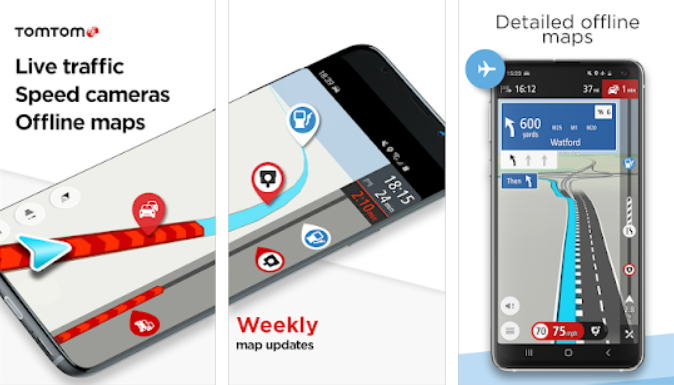 Aplikasi GPS Terbaik - tomtomgo img