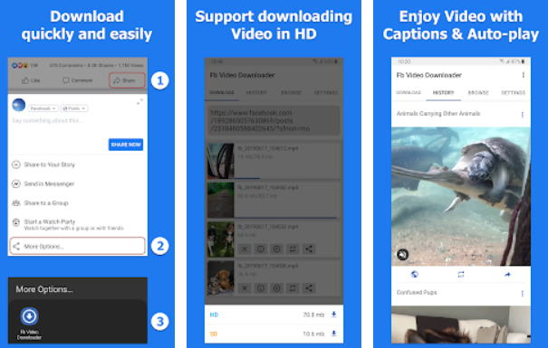 Aplikasi Download Video Online - video downloader fb img