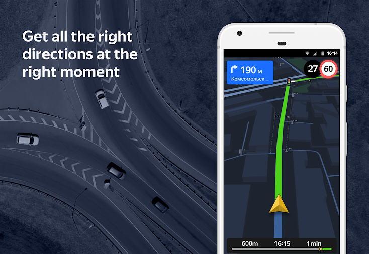 Aplikasi GPS Terbaik - yandex.navigator img