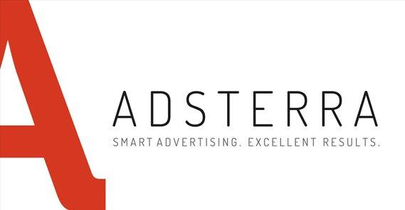 Apa Untungnya Pasang Iklan di Adsterra? - Adsterra Logo