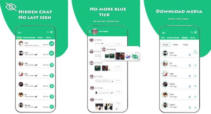 Cara Menyembunyikan Status Online WhatsApp - Hidden Chat For Whatsapp img