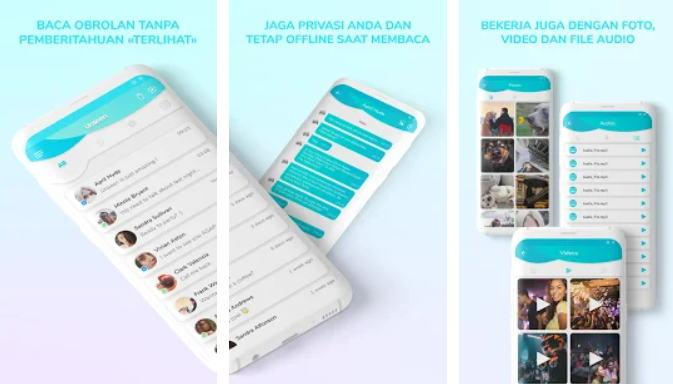 Cara Menyembunyikan Status Online WhatsApp - Unseen Tanpa Terakhir Dilihat img
