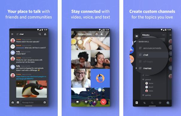 Aplikasi Chatting Terbaik di Android - discord img