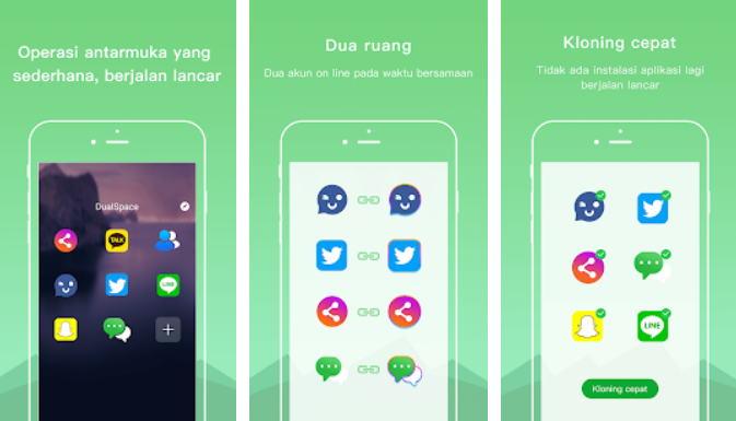 Cara Menggunakan 2 WhatsApp - dual space img