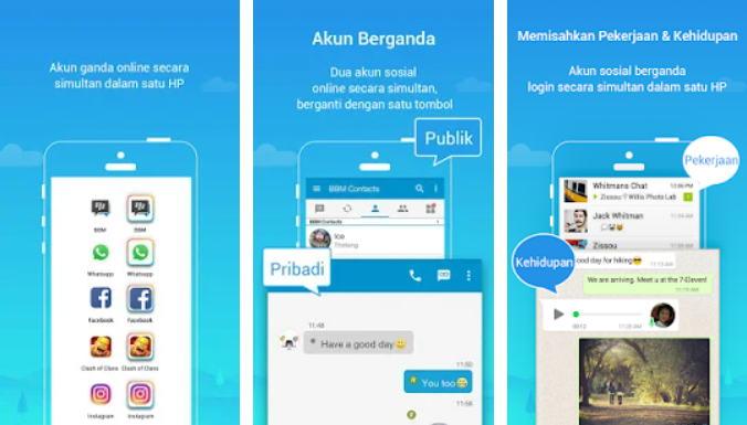 Cara Menggunakan 2 WhatsApp - parallel space img