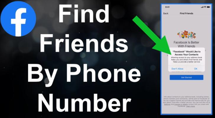 Cara Menambah Teman di Facebook - tambah teman fb nomor telp img