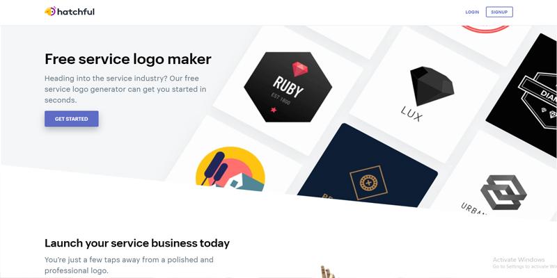 6 Tools Pembuat Logo Gratis untuk Bisnis - Hatchful 1