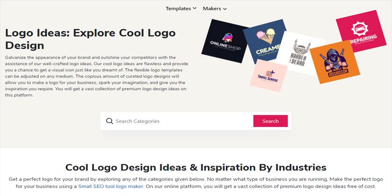 6 Tools Pembuat Logo Gratis untuk Bisnis - smallseotool 1